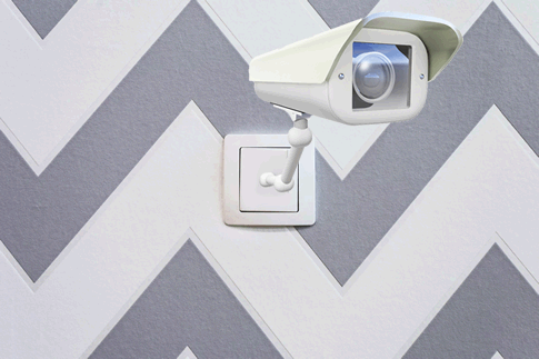 Videoüberwachung über Stromnetz