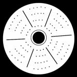 Hemispherische Fischaugen-Kamera 360 Grad