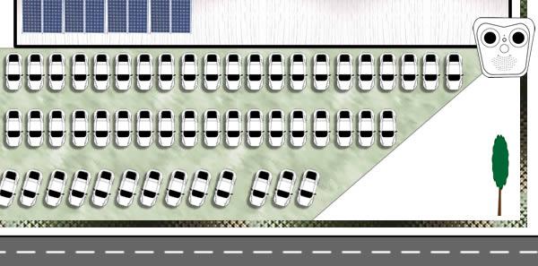 Perimeterschutz Autohaus - 400 Fahrzeuge
