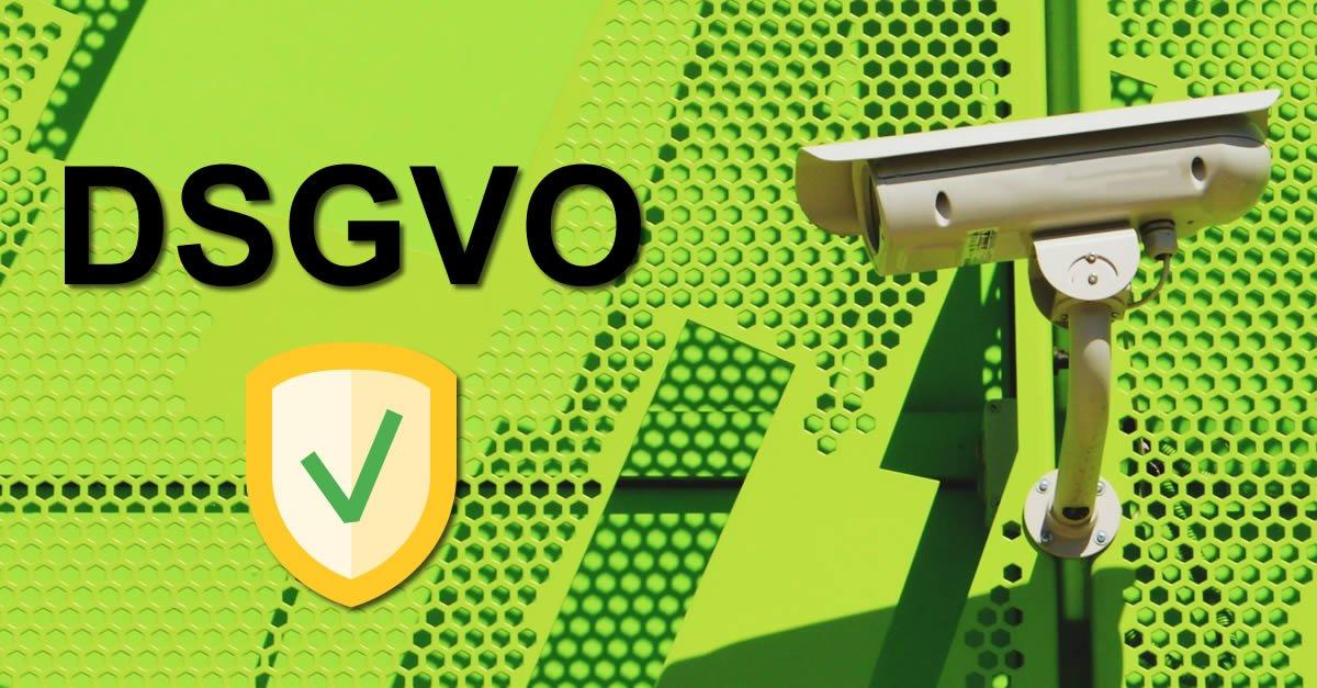 DSGVO Datenschutz Funktionen für die Videoüberwachung