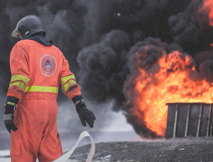 Brandfrüherkennung mit Kameras
