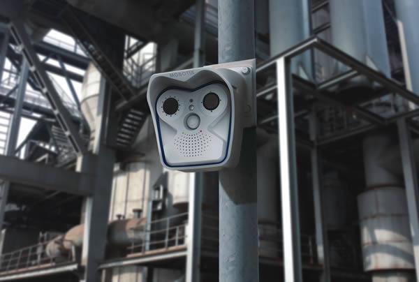 Wärmebild-Kamera zur Brandfrüherkennung